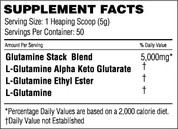 Glutamine Stack Facts